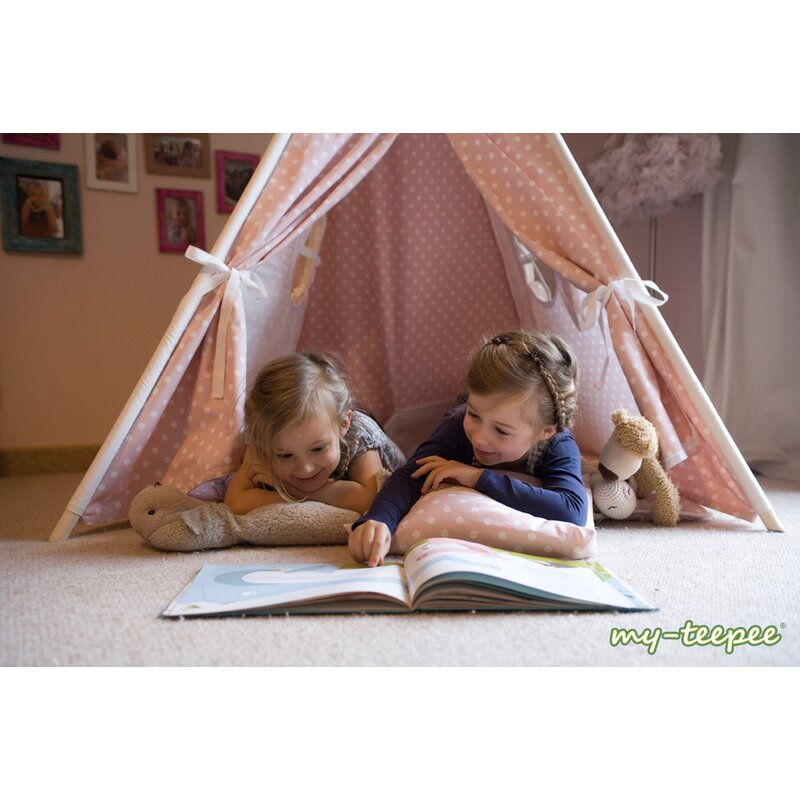my teepee kinder spielzelt rosa 155 00. Black Bedroom Furniture Sets. Home Design Ideas