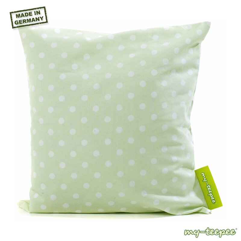 my teepee deko kissen gr n 40 cm kotex 100. Black Bedroom Furniture Sets. Home Design Ideas